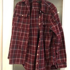 Banana Republic Red Flannel